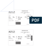 Sample Boarding Passes