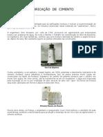 Fabricação do  Cimento