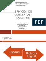 Conceptos Taller 2 - Usando Los Blogs