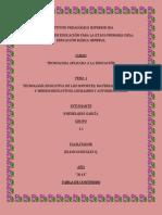 Tecnología Educativa de los Soportes, Materiales Didácticos y Medios Educativos Auxiliares y Autodidácticos
