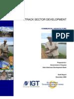 ETG Guyana Action Plan Aquaculture 11Dec05