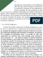 MODELO TERAPÉUTICO DEL CONDUCTISMO