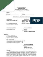 Complaint Affidavit Bp22 Case