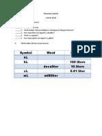 Measuring Capacity Activity Sheet (Therese)