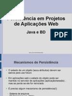Acad a Persistencia Em Aplicacoes Web Java e BD