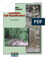 Field Guide to Louisiana Soil Classification