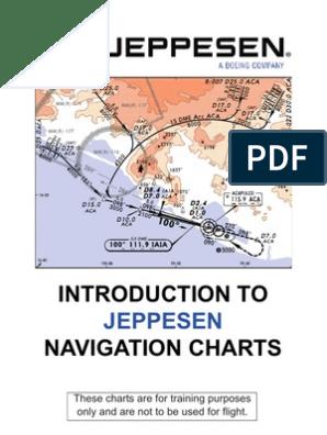 Jeppesen Navigation Chart Understanding | Air Traffic Control