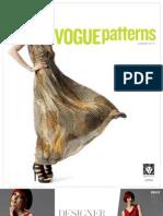 Vogue Patterns Summer 2013 Lookbook