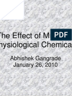 The Effect of Music on Physiological Chemicals