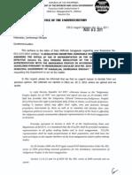 DILG Legal Opinions 20121114 5cace7e767