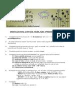 Edital para Apresentação de Trabalhos Procad 2012