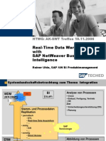 Real-Time Data Warehousing with SAP NetWeaver Business Intelligence
