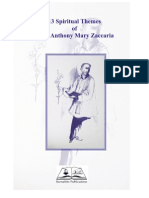 13 Spiritual Themes of St Anthony Mary Zaccaria