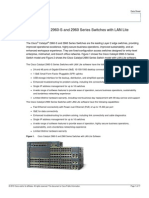 2960-S and 2960 Series Switches With LAN Lite Software