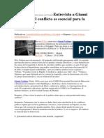 Entrevista Al Filosofo Giani Vattiamo