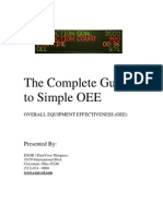 The Complete Guide to Simple OEE
