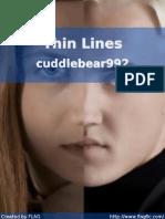 Cuddlebear992 - Thin Lines
