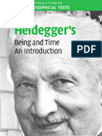 Heidegger's 'Being and Time' - An Introduction