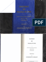 History of Sigma Pi Phi by Charles H Wesley