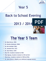 5GD Back to School PowerPoint 13-14
