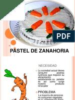 defendiendo al pastel de zanahoria FODA