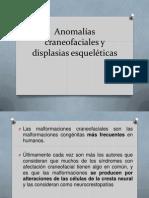 Anomalías craneofaciales y displasias esqueléticas