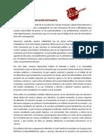 COMUNICADO REPRESENTACIÓN ESTUDIANTIL 11
