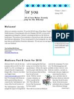 HICAP Newsletter Spring 2009