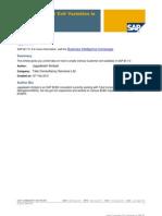 Using Customer Exit Variables in SAP BI