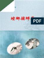 七星螳螂拳丛书-螳螂捕蝉拳(黄钻明着)
