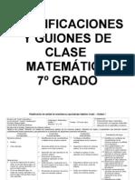 planificaciones matemática 2013