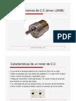 Control de motores compuertas lógicas y PIC