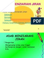 Adab Menziarah Jiran