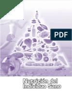 Cuarto Semestre - Nutricion Del Individuo Sano - Colegio de Bachilleres Del Estado de Sonora