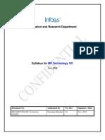 MF Technology101 Scope Doc