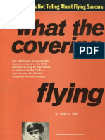 WHAT THE CIA IS NOT TELLING ABOUT FLYING SAUCERS by John A. Keel