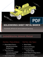Solid Works Sheet Metal