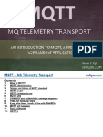 MQTT - MQ Telemetry Transport for Message Queueing