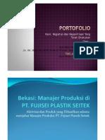 PortoFolio Karir Profesional& Kepanitiaan Seminar