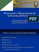 Preservacion de La Eena Del Crimen