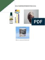 Gambar Sediaan Kortikosteroid Intranasal