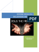 Divine Healing Believers Manual