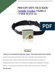 Xexun GPS Portable Tracker TK201-2 User Manual