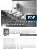 Sex and Gender in School Architecture