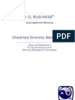(Checkliste) Diversity Management