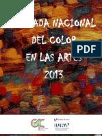 ColorenlasArtes2013 Programa Completo