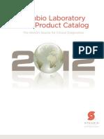 2012 Stanbio Catalog clinical laboratory