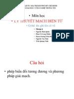 Ly Thuyet Mach