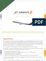 Jet Airways Customer Service Plan