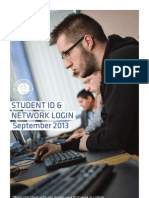 Student Id and Network Book Single 2013
